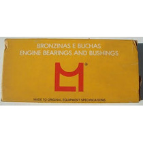 Bronzinas Mancal Metal Leve Motor 6 Cilindros Opala Caravan