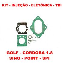 Kit Reparo Injeção Eletronica Tbi Golf 1.8 Spi 1-bico
