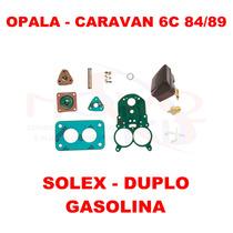 Kit Reparo Carburador Opala/caravan 6c 84/89 Gas Solex Duplo