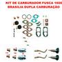 Kit Carburador Fusca/brasilia 1600 75/82 Solex Duplo Gas