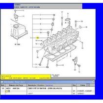 Cabeçote Motor Ford Zetec Rocam 1.6 Gasolina Completo