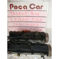 Cabeçote Peugeot 206 1.4 16 V Flex Semi Novo