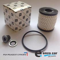 Kit: Anel + Bujão + Filtro Óleo Peugeot / Citroen - Original