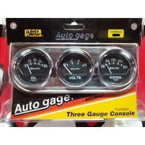 Painel Instrumentos Triplo Autometer Dodge Maverick Opala