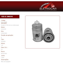 Filtro De Combustível Fiat Ducato 2.5 Tdi Com Ar 94 A 02
