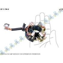 Porta Escova Motor Partida Bosch S10 Sprinter Frontier