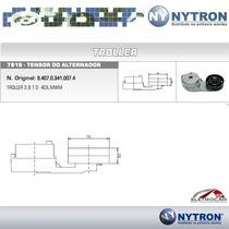 Tensor Do Alternador Troller Mwm 2.8 Turbo Diesel 4 Cilindro