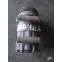 Compressor Do Ar Condicionado Peugeot 206 1.0 16v Mark Saden