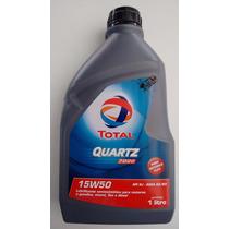 Óleo Total Quartz 7000 15w50 Semi Sintético Peugeot Citroen