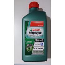 Óleo Castrol Magnatec 5w40 Original Vw 100% Sintético 508