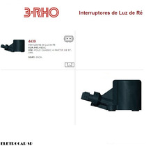 Interruptor De Luz De Ré Vw Volkswagem Polo Classic 97 Em Di