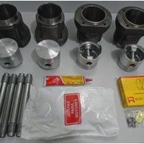Kit Motor Completo Fusca Brasilia Kombi 1600 84/...alcool