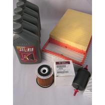 Kit Revisão Novo Palio E-torq 1.6 16v Filtros Oleo