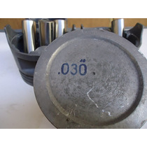 Jogo Pistao 0,30mm Do Motor Gm Opala 4cc 2.5 Gas 84 A 92