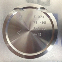 Jogo Pistões/anéis Renault Clio/scenic 1.6 16v Std Flex K4m
