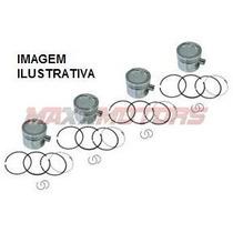 Jogo Pistao C/ Anel Motor Volks Gol 1.0 8v Mi Gasolina Ea111