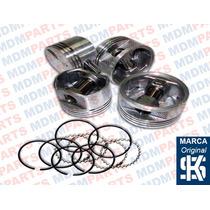 Jogo Pistão Com Anéis Motor Vw Ap 2.0 Mi Gas. 96/...