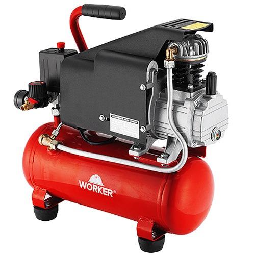 Compressor de ar profissional 6 litros 1hp 140 l m 8 bar - Compresor 6 litros ...