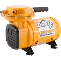 Compressor Chiaperini Bi-volt Ar Direto G3 Motor 1/3 Hp Pres