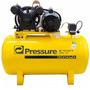 Compressor Ar 10 Pés 100 Lts 110 220v Mono Pressure Economic