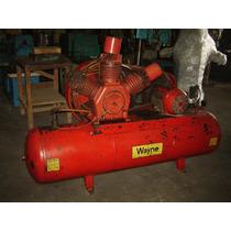 Compressor Wayne 3 Pistões Mod. 407/70 Motor 10cv