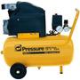 Compressor De Ar 6 Pés 24 Litros Pressure Moto Press