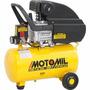 Motocompressor Motomil Cmi-7,6 - 24l 2hp 127v