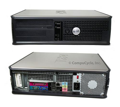 Computador Dell Gx620 Pentium D 820/ 2.8 Ghz /1gb Mem/ 80gb