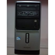 Computador Dual Core 4gb 320 Hd Cd E Dvd Gravador Wifi