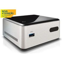 Mini Pc Nuc Intel Dual Core N2830 4gb Hd 500gb Hdmi Usb Rede
