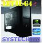 Computador Gamer Intel I7-4790 Letal-g4 8gb Gtx750ti 430w