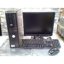 Dell Optiplex Dual Core 1.8ghz 1 Gb Ddr2 Lcd Hd 80gb
