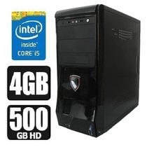 Pc Cpu Intel Corei5 3ªgeração+4gb Ram+hd 500gb Garantia 1ano