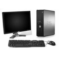 Pc Completo Dual Core Com Monitor Lcd 17 Teclado E Mouse