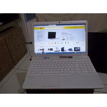 Note Book Sony Vaio Modelo Pcx71911x Corei3 500 Hd 2 Giga