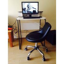 Computador Completo + Mesinha + Cadeira Tok Stok