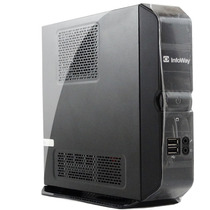 Cpu Mini Desktop Infoway Atom 1.6ghz 2gb Memória Hd 320g-cj1
