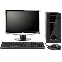 Computador Intel Core 2 Duo + Monitor Samsung 17 Polegadas