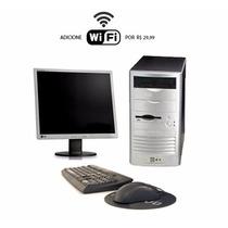 Computador Para Uso Doméstico Completo Hd 80 Gb
