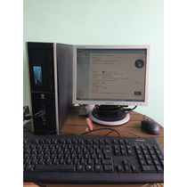 Pc Desktop Completo Hp Core 2 Quad 4gb Mem/hd 300gb/dvd