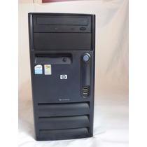 Cpu Hp Compaq Torre Pentium 4 512mb Hd 40 Gb Win Xp Original