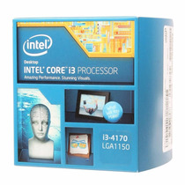 Cpu Gamer I3 4170 Placa Asus H81m 4gb 1600mhz