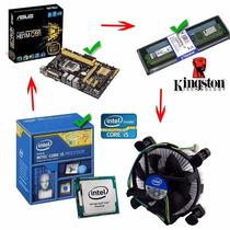 Kit Pc Gamer Placa Mãe Asus Core I5 4ª Geração Memória 4gb