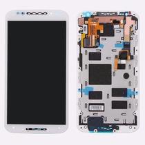 Display Completo Tela Lcd Touch Motorola Moto X2 Branco