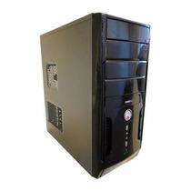 Pc Cpu Corei3+4gb Memória+500 Hd+dvd +1ano Garantia