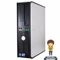 Desktop Dell Optiplex 780 Core2quad 2.4ghz, 4gb Ddr3, 320gb