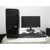 Cpu Completa Dual Core / E6500-ddr3 Com Monitor