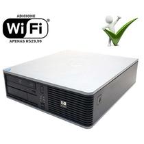 Pc Cpu Desktop Hp Core 2 Duo Sup. Até 4gb/ Hd 80gb / Dvd