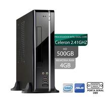 Mini Computador 3green Dual Core 4gb Hd 500gb Frete Gratis