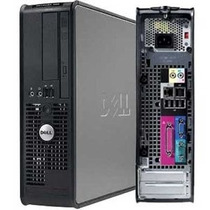 Cpu Torre Dell Optiplex 745 Core 2 Duo 2gb Hd 80gb Dvd